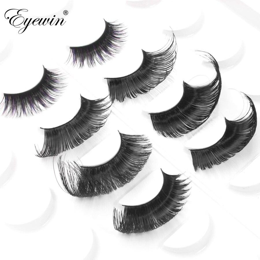91d4ae316cc Eyewin False Eyelash For Drag Queen Full Strip Eyelashes Lash Maquiagem  Makeup 3D Mink Lash Crossing Eyelash Dramatic Cilios