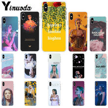Yinuoda Halsey Hopeless Fountain Kingdom Coque Shell Phone Case for Apple iPhone 8 7 6 6S Plus X XS MAX 5 5S SE XR Mobile Cover(China)
