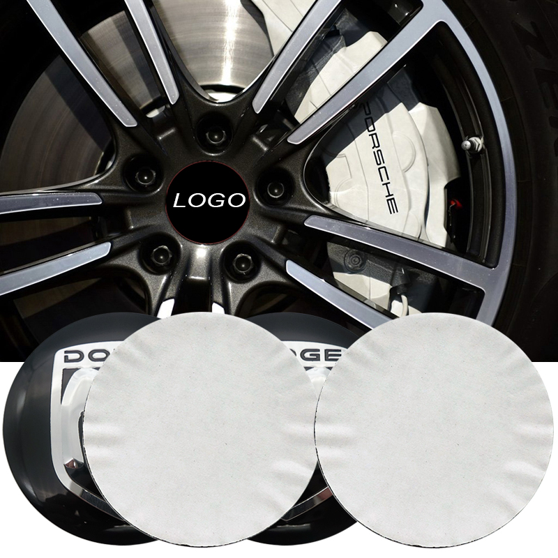 4pcs 56.5mm FOR Dodge logo car emblem Wheel Center Hub sticker Rim badge covers Aluminum sticker Car styling Accessories car styling wheel center hub caps wheel sticker emblem for cross logo for corvette mazda 3 silverado dodge ram vw golf clio benz