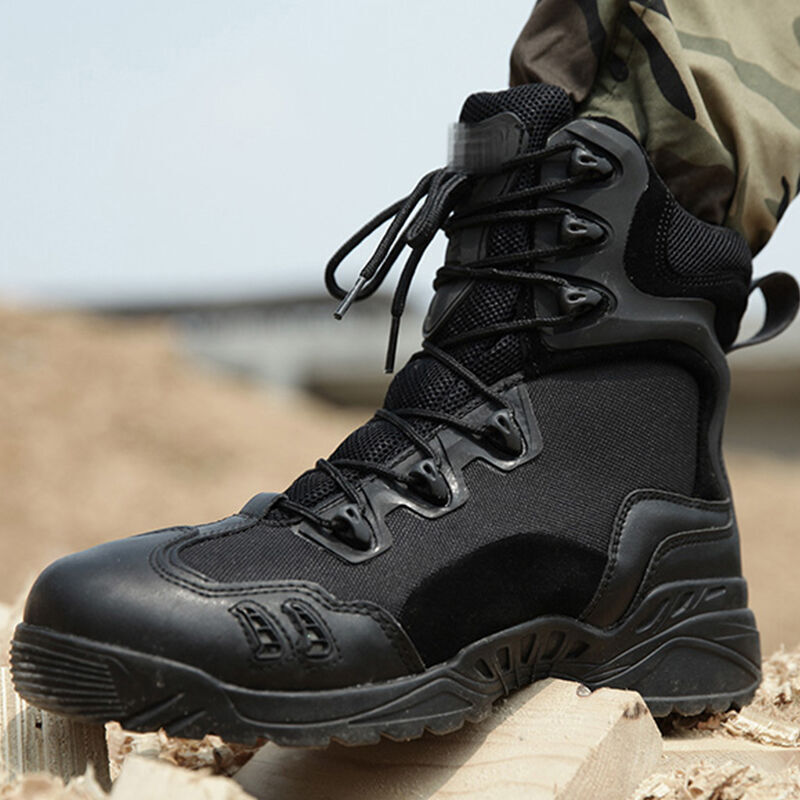Tactical Military Soldier Boots For Men Climbing Trekking Hunting Walking Mountain Camo Sneakers Man Hiking Shoes