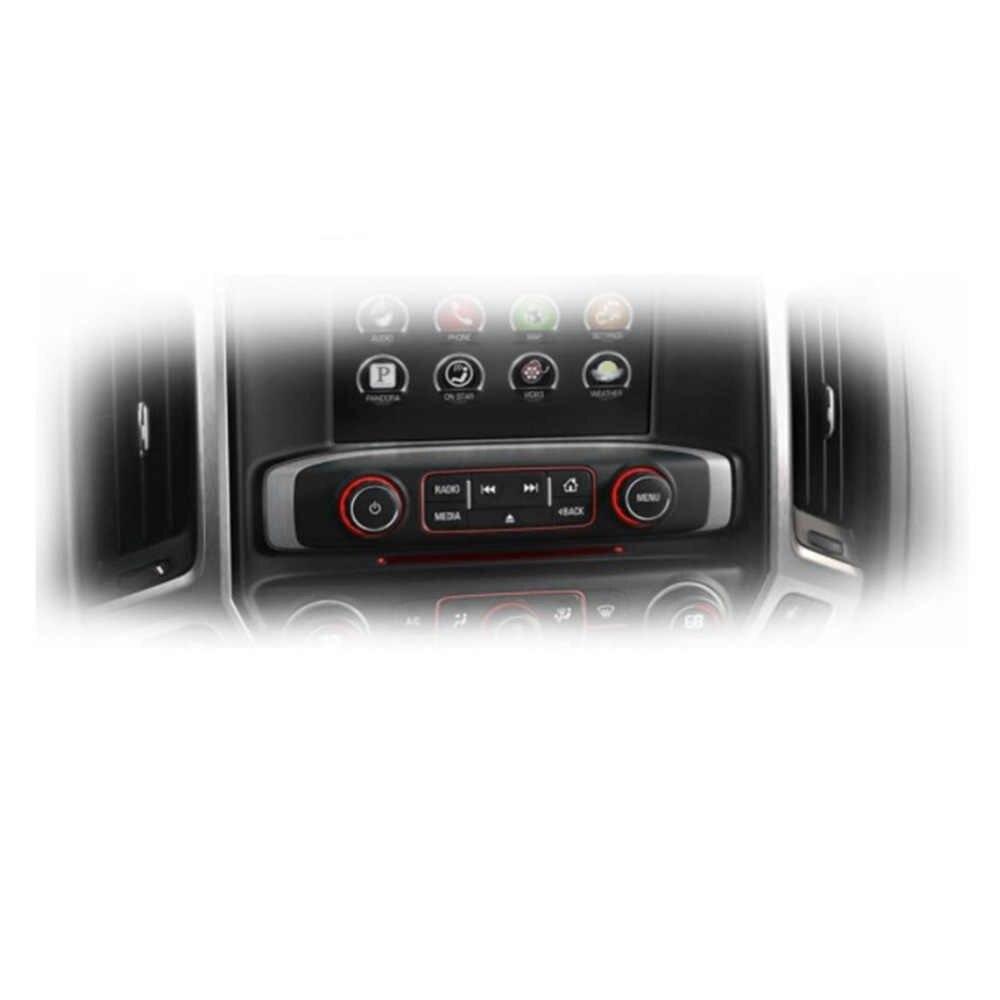 1 PC Belakang Radio Audio Volume Tombol Kontrol Panggil Tuner untuk 07-13 Chevy Chevrolet 22912547 Radio Perbaikan Kit pengganti Tombol