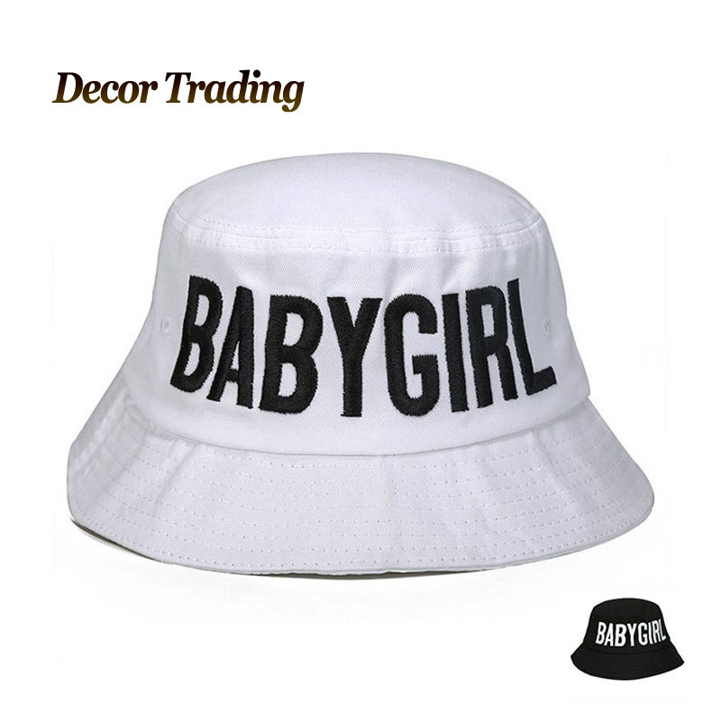24dad72291d 2015 Fashion Brand BABYGIRL Summer Bucket Hats For Men Women Team Cotton  Bob Chapeu Fisherman Bucket