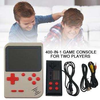 FC Retro Game Console Handheld Game Console PSP PVP Game Machine With Built-in 400 Classic Games For Two Players