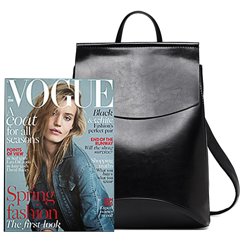 Elegant backpacks for college girl Black