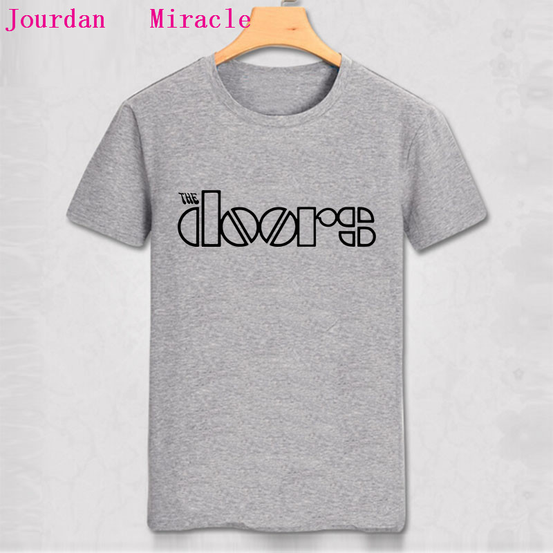 Jim Morrison Suicide T-shirt The Doors Shirt Cotton Hight Quality Man T Shirt Newest 2018 Fashion Men's Clothing