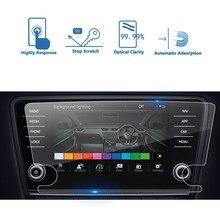 RUIYA Защитная пленка для Skoda infotainment system Amundsen Octavia 8 дюймов автомобильный навигационный экран, 9 H Закаленное стекло протектор