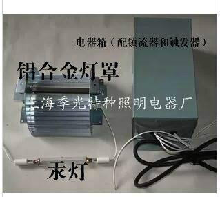 Traitement photochimique photocatalytique de la lampe au mercure à haute pression ultraviolette 300 W/500 W avec abat-jour