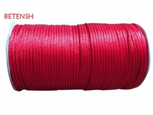 100% Nylon! 2.5mm Red Jewelry Findings Cords Rattail Satin Macrame Rope Beading Cord Accessories Shamballa Bracelet 250M/Roll