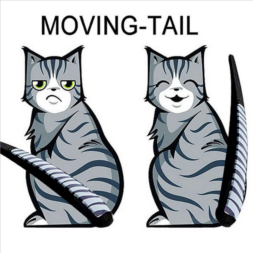 how to make a moving tail