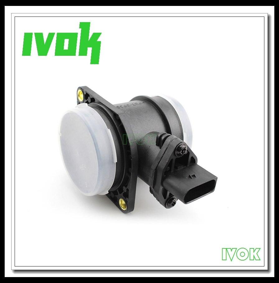 High Quality Mass Air Flow Meter Sensor For Audi A3 A4 VW Jetta Golf Beetle Bora Polo Sharan 06A906461 0280217121