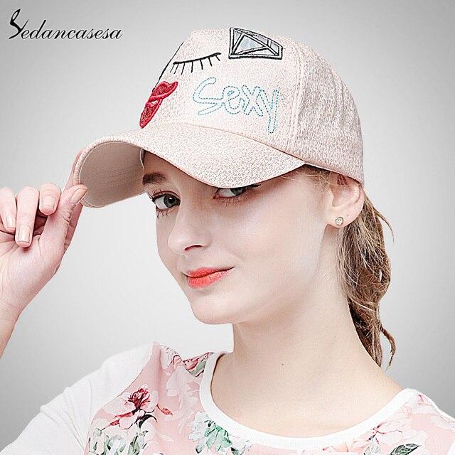 83476ac09c7 Sedancasesa cute new fashion Baseball Cap women Hats for girls Trucker cap  cool snapback caps for