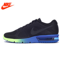 Original NIKE AIR MAX SEQUENT Men's Cushioning Running Shoes Sports Sneakers Colorful Sole Brand Design Breathable Top Quality