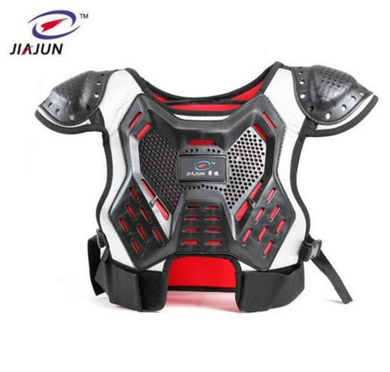 JIAJUN Childrens Armor Motorcycle Riding Protective Gear Armor Ski Back Motorcycle Protection Back Support Baby Spine Armor