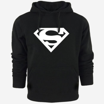 Sweat Capuche Hip Hop Logo Superman