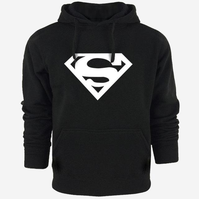 Sweat Capuche Hip Hop Logo Superman