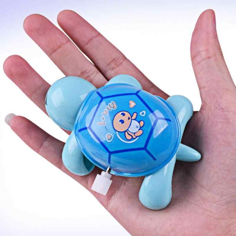 เต่าการ์ตูนน่ารักของเล่นเด็ก Little เต่า Clockwork ของเล่น 2018 เด็ก Crawling Wind - Up Turtle ของเล่นเพื่อการศึกษาสุ่ม