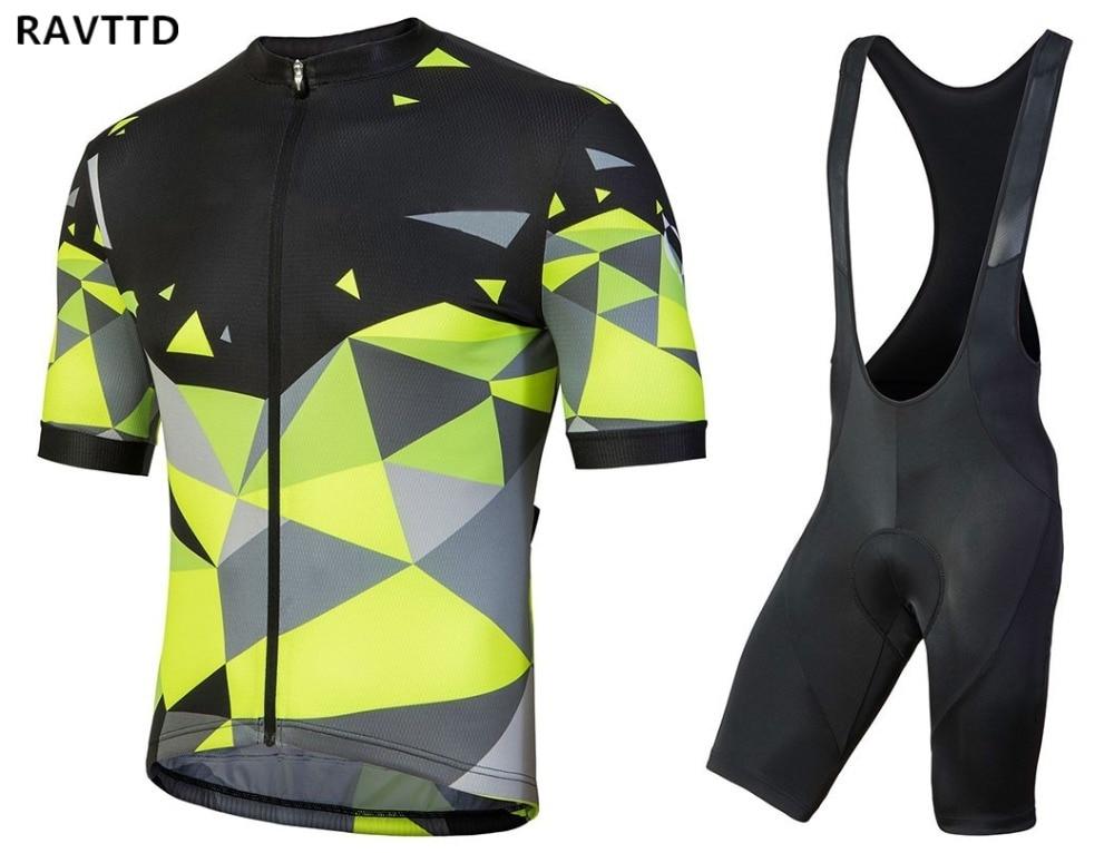 2018 핫 프로 자전거 자전거 저지 여름 Mtb 자전거 의류 자전거 짧은 소매 타이츠 Ciclismo Sportwear 자전거 옷