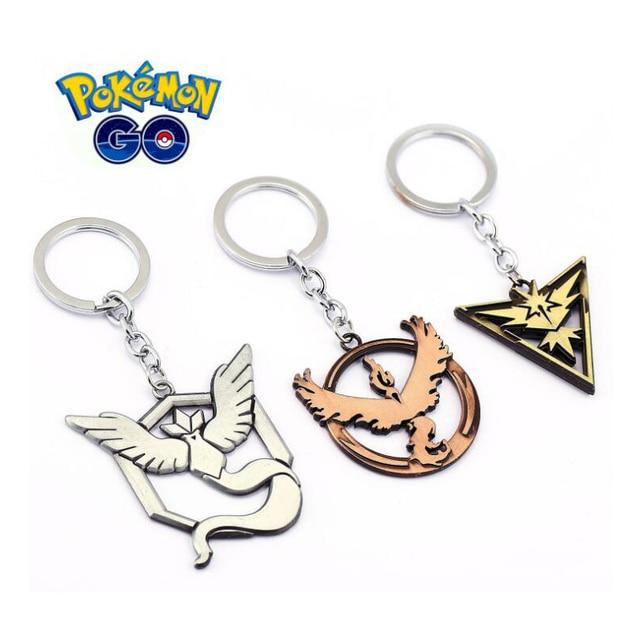 Orp Anime Game Peripheral Products Pokemon Keychain Frozen Bird