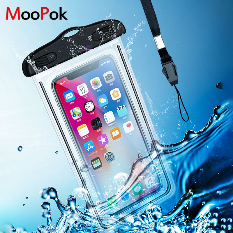 Universal Waterproof <font><b>Case</b></font> For iPhone X XS MAX 8 7 6 Plus Cover Pouch Bag <font><b>Cases</b></font> For Samsung S8 S9 S10 Plus <font><b>Water</b></font> <font><b>proof</b></font> <font><b>Phone</b></font> <font><b>Case</b></font> image