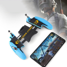 For Z8 Mobile Game GamePad PUBG Controller Gamepad joystick Metal L1 R1 Trigger With Phone Stand