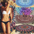 Retro Indian Mandala Round Tapestry Wall Hanging Boho Printed Beach Picnic Throw Towel Yoga Mat Blanket Table Home Decor 150CM