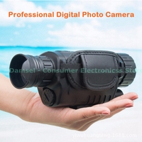 Professional Digital SLR Photographic Camera Monocular Night Vision IR Infrared Telescopes Video Recorder DVR Hunting Record Cam