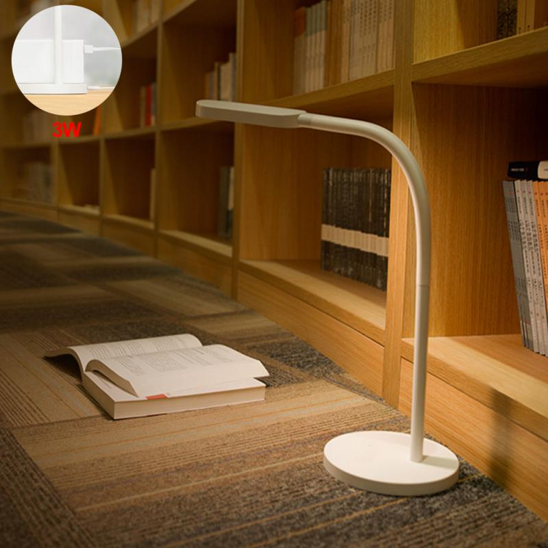Lamps & Shades Desk Lamps Sweet-Tempered 5v 1a Desk Lamps 3w 5w Adjustable Led Lamp Touch Dimming Foldable Minimalist Table Light For Yeelight Table Lamp #xj40 To Help Digest Greasy Food