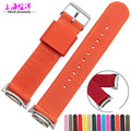 Free shipping 2016 Casual Quartz-watch Nylon Sport Watch Band Strip and Adapters For Samsung Galaxy Gear S2 R720