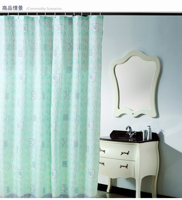 Online Get Cheap Seashell Shower Curtain Aliexpress Com Alibaba