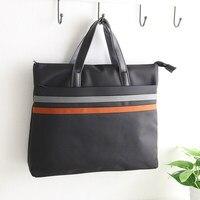 Fashion Business Document Bag Briefcase Multi Pocket Folder A4 File Bag For Paper Laptop