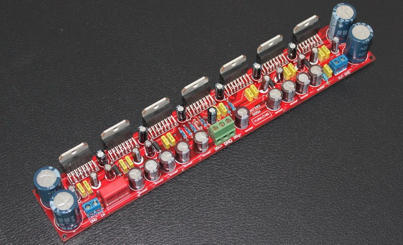 high Super power 600W TDA7293 parallel amplifier board Can choose whether Excluding radiators цены