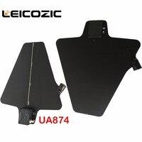 Leicozic UA874 Two Active Directional Antenna & Splitter Amp system kit UHF Antenna Integrated Amp Microphone wireless ua845