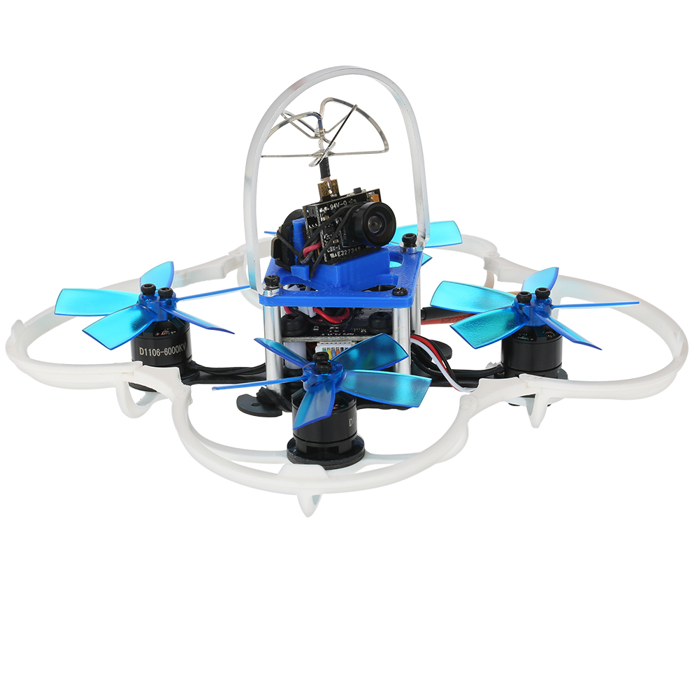 GoolRC G85 85mm 5.8G 40CH 600TVL Micro FPV Racing Drone 1106 Brushless Motor RC Quadcopter with F3 Flight Controller ARF m pcp a 14n m ha temperator controller used in good condition