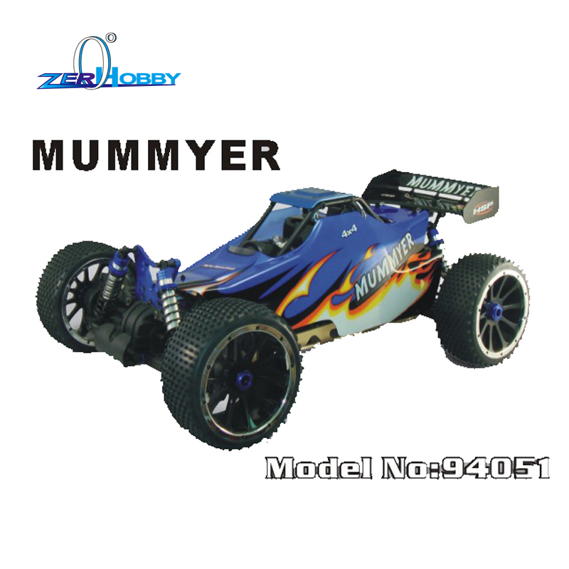 HSP RACING REMOTE CONTROL CAR 1/5 SCALE GAS POWERED UNIVERSAL OFF ROAD 4WD BUGGY 30CC ENGINE hsp racing nokier 94062 monster truck 1 8 scale electric powered 4wd off road remote control rc car 80a esc kv3500 motor