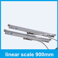 Free shipping optical scale Rational WTA5 900mm 0.005mm linear distance measurement for CNC drilling machine