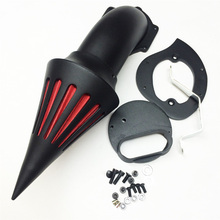 Aftermarket free shipping motorcycle parts Spike Air Cleaner filter for Yamaha  V-Star 1100 Dragstar XVS1100 1999-2012 BLACK