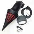 Envío libre de la motocicleta del mercado de accesorios piezas de Pico Del Filtro de Aire filtro para Yamaha V-star 1100 XVS1100 Dragstar 1999-2012 NEGRO
