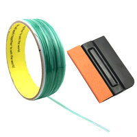 50M Safe Finish Car Line Knifeless Tape with Squeegee for Vinyl Wrapping Film Cutting Car Styling