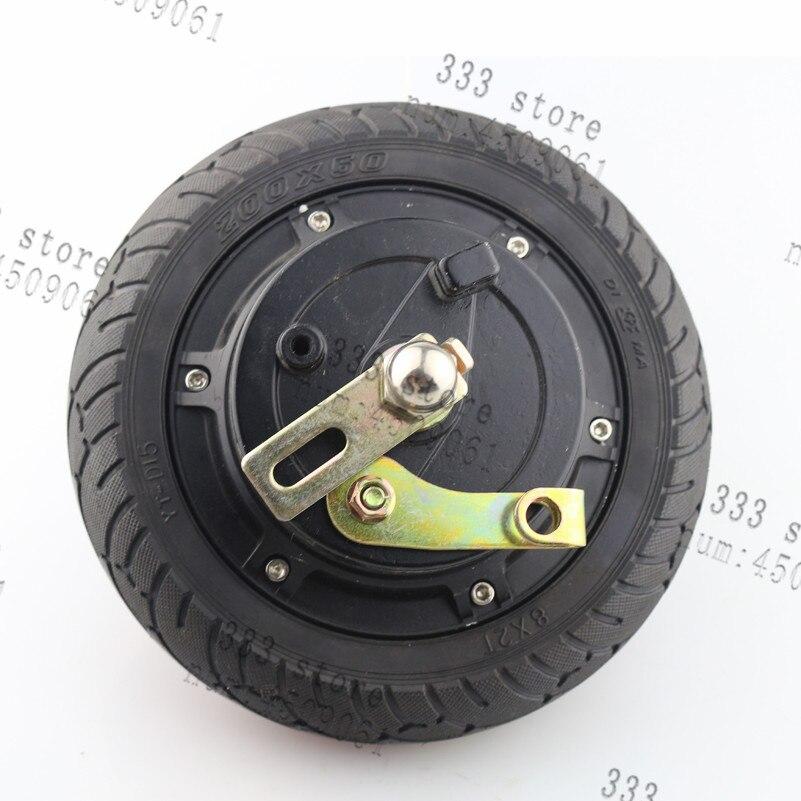 "Electric Scooter Hub 8/"" Wheel Motor Brushless Toothless Bicycle  24V 36V 48V DC"
