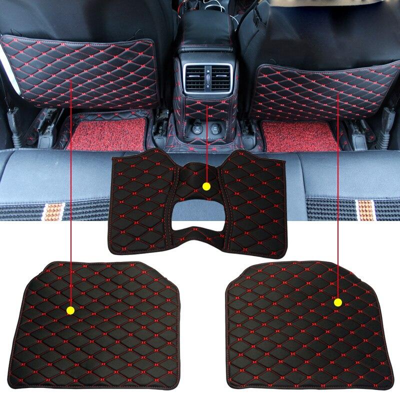 Black Rear Back Waterproof Car Seat Cover Protector For Kia Niro 2016 On