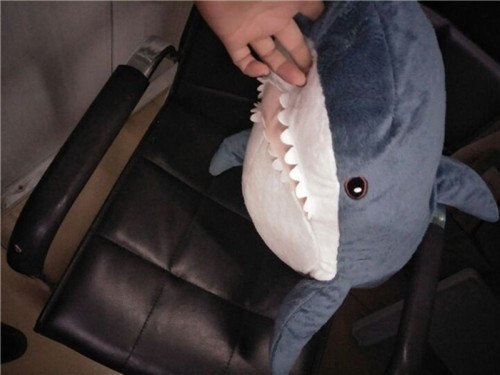 Fancytrader 39\'\' Big Plush Hammerhead Shark Soft Stuffed Lifelike Animal Shark Toy for Kids 100cm Great Gift & Home Decoration (11)