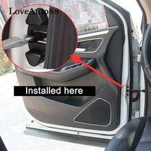 4 шт. 3D ABS дверной стоппер Защитная крышка для Nissan Qashqai J11 J10 X-trail, T32 T31 автомобильные аксессуары