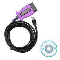 New V12.20.024 Mini VCI USB Interface for Toyota Techstream OBD Obd2 16pin Cable Diagnostic Trouble Codes Reprogramming Cord