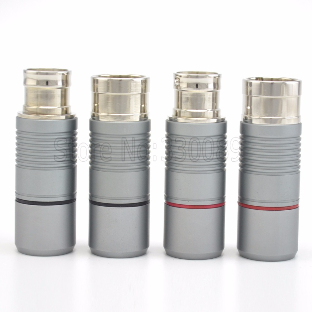Free shipping 4pcs Voodoo Stradivarius XLR Connector Plug with silver plated for interconnect cable free shipping cardas clear light interconnect cable xlr to xlr connector plug