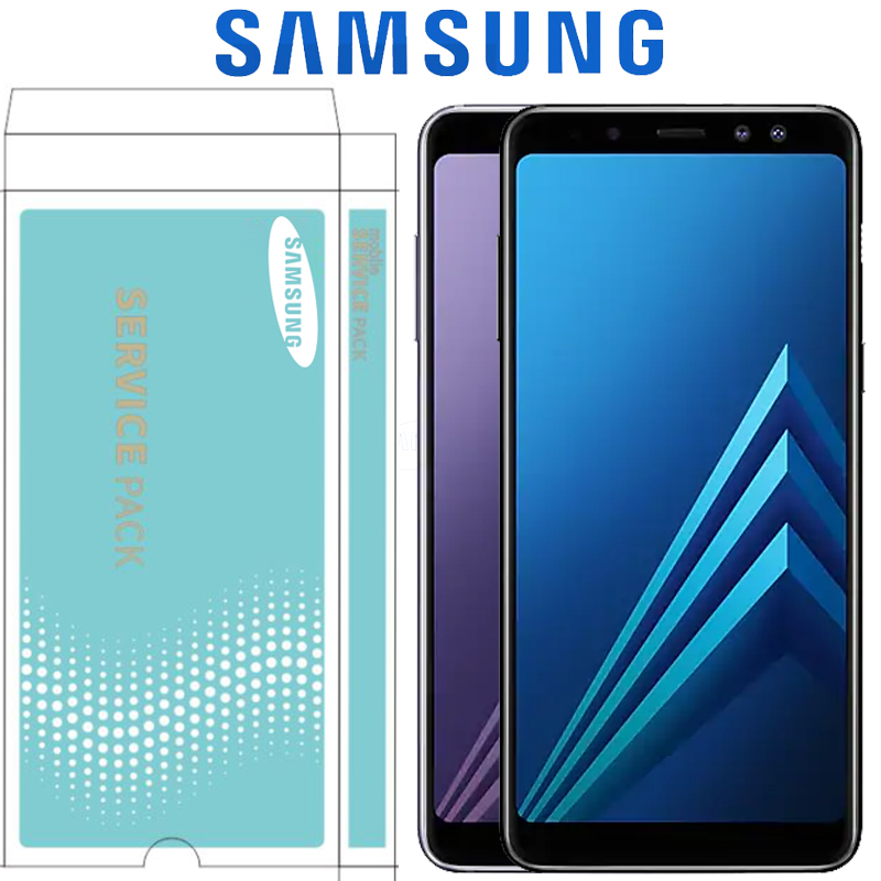ORIGINAL 6 0 SUPER AMOLED LCD for SAMSUNG Galaxy A8 Plus 2018 Display A730 Touch Screen