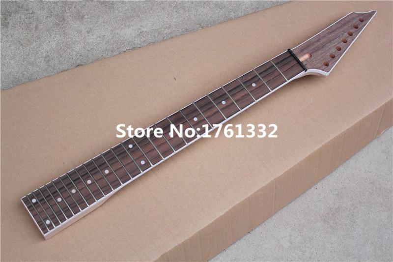 hot sale factory custom diy 24 frets 7 strings electric guitar neck rosewood fingerboard maple. Black Bedroom Furniture Sets. Home Design Ideas