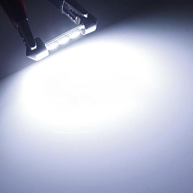10 ШТ. 31 мм 36 мм 39 мм 41 мм 12 в c5w холодный белый 3 smd привело гирлянда гора купола свет лампы накаливания для carng