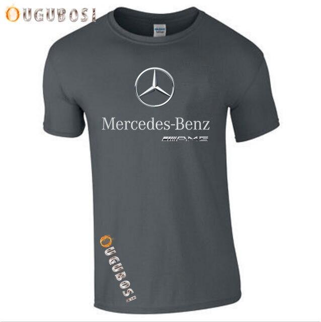 2019 short Sleeve   T  -  Shirt   MENS A M G logo Auto Gift   Shirt