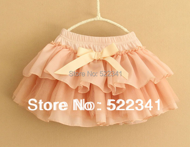 Summer new style girls fashion skirt chiffon skirts baby kids children skirts