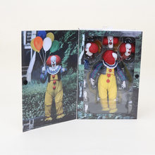 18cm NECA IT Pennywise 1990 Stephen King's It Clown PVC Action Figure Model Collection Toys For Halloween Decoration Gift(China)